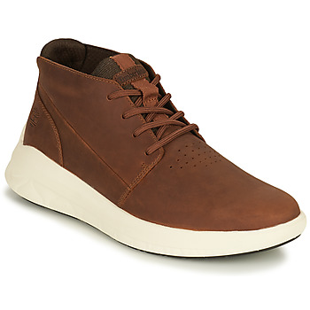 Shoes Men High top trainers Timberland BRADSTREET ULTRA PT CHK Brown