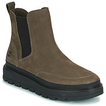 Shoes Women Mid boots Timberland RAY CITY CHELSEA Kaki
