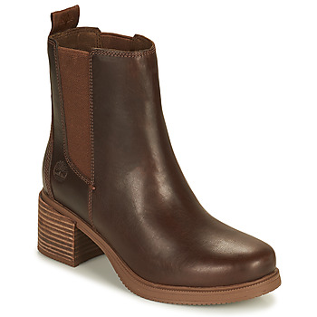 Shoes Women Ankle boots Timberland DALSTON VIBE CHELSEA Brown