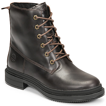 Shoes Women Mid boots Timberland LISBON LANE BOOT Brown