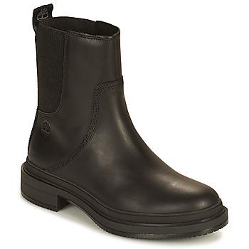 Shoes Women Mid boots Timberland LISBON LANE CHELSEA Black