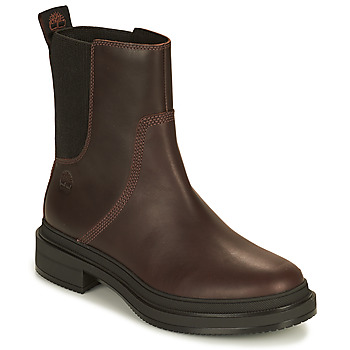 Shoes Women Mid boots Timberland LISBON LANE CHELSEA Brown