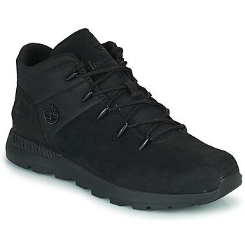 Shoes Children High top trainers Timberland SPRINT TREKKER MID Black