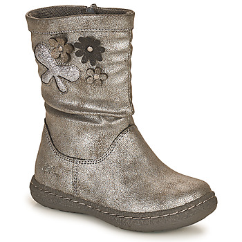 Shoes Girl Boots Chicco CAROL Silver