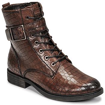 Shoes Women Mid boots Tamaris HEARDE Brown
