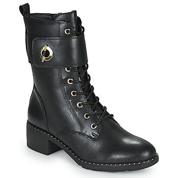 Shoes Women Ankle boots Tamaris SEEDRE Black / Gold