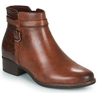 Shoes Women Ankle boots Tamaris YOUNIN Brown