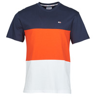 material Men short-sleeved t-shirts Tommy Jeans TJM CLASSIC COLOR BLOCK TEE Multicolour