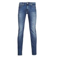 material Men slim jeans Tommy Jeans SCANTON SLIM AE136 MBS Blue / Medium