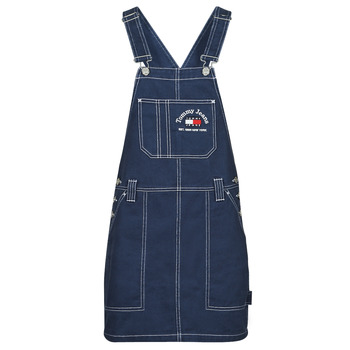 material Women Jumpsuits / Dungarees Tommy Jeans TJW TIMELESS DUNGAREE DRESS Blue / Medium