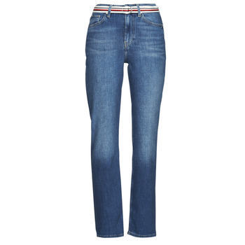 material Women straight jeans Tommy Hilfiger NEW CLASSIC STRAIGHT HW A LEA Blue / Medium