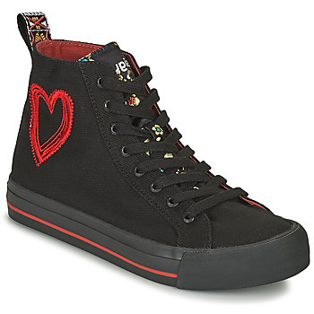 Shoes Women High top trainers Desigual BETA MILITAR Black