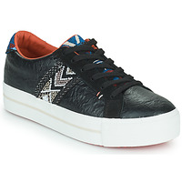 Shoes Women Low top trainers Desigual STREEET ETHNIC Black