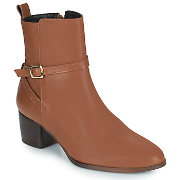 Shoes Women Mid boots JB Martin AUDE Brown