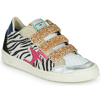 Shoes Women Low top trainers Serafini SAN DIEGO Gold / White / Black
