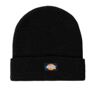 Clothes accessories Men hats Dickies GIBSLAND BEANIE Black