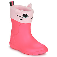Shoes Girl Wellington boots Isotoner 99314 Pink