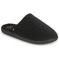 Shoes Men Slippers Isotoner 98032 Black