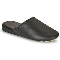 Shoes Men Slippers Isotoner 96607 Black