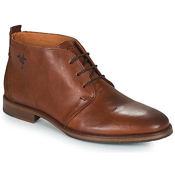 Shoes Men Mid boots Kost MADISON Cognac