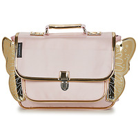 Bags Girl Satchels CARAMEL & CIE CARTABLE AILE Pink