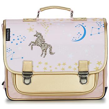 Bags Girl Satchels CARAMEL & CIE CARTABLE 38 CM CONSTELLATION Multicolour