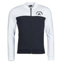 material Men Jackets Le Coq Sportif SAISON 2 FZ SWEAT N 1 Marine / White