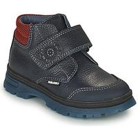 Shoes Boy Mid boots Pablosky 502923 Blue