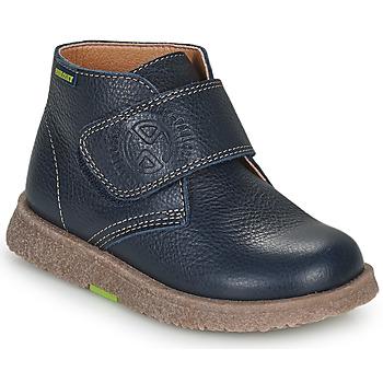 Shoes Boy Mid boots Pablosky 502323 Blue
