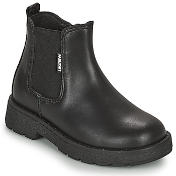 Shoes Girl Mid boots Pablosky 405114 Black