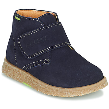 Shoes Boy Mid boots Pablosky 502228 Marine