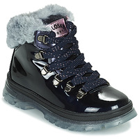 Shoes Girl Mid boots Pablosky 404429 Marine