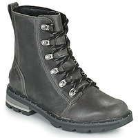 Shoes Women Mid boots Sorel LENNOX LACE Grey