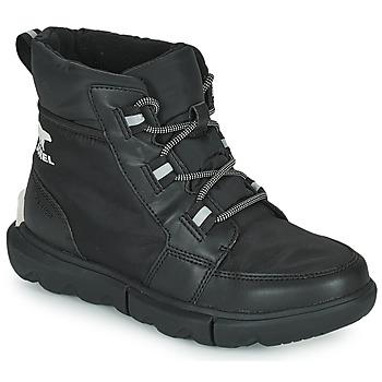 Shoes Women Mid boots Sorel SOREL EXPLORER II CARNIVAL SPORT Black