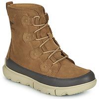 Shoes Men Mid boots Sorel SOREL EXPLORER BOOT WP Brown