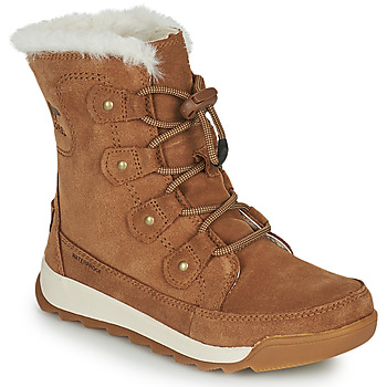 Shoes Girl Mid boots Sorel YOUTH WHITNEY II JOAN LACE Brown