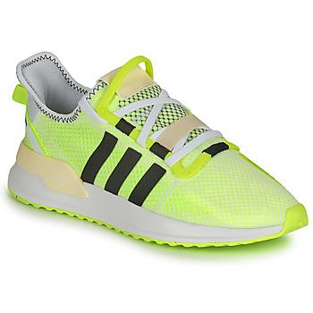 Shoes Men Low top trainers adidas Originals U_PATH RUN White / Yellow