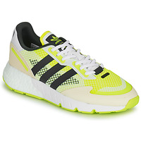 Shoes Men Low top trainers adidas Originals ZX 1K BOOST White / Yellow