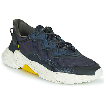 Shoes Men Low top trainers adidas Originals OZWEEGO Marine / Yellow