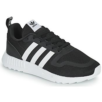 Shoes Boy Low top trainers adidas Originals MULTIX C Black / White