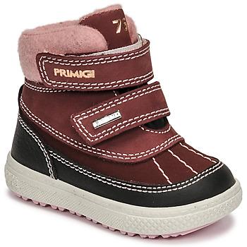 Shoes Girl Snow boots Primigi BARTH 19 GTX Bordeaux