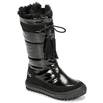 Shoes Girl Snow boots Primigi FLAKE GTX Black