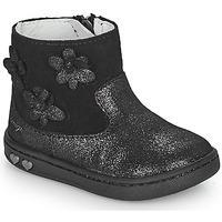 Shoes Girl Mid boots Primigi BABY LIKE Black