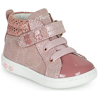 Shoes Girl High top trainers Primigi BABY LIKE Pink