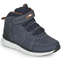 Shoes Boy Mid boots Primigi B&G TIMBY Marine