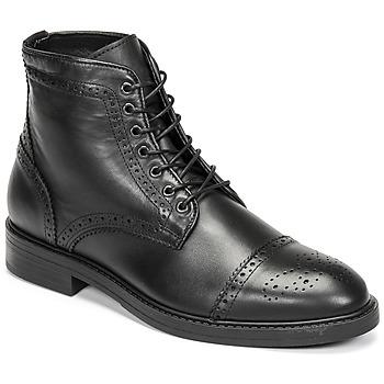 Shoes Men Mid boots Selected BROGUE Black