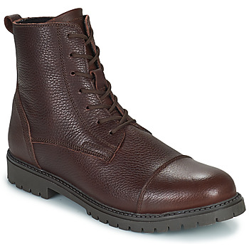 Shoes Men Mid boots Selected THOMAS Brown