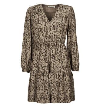 material Women Short Dresses See U Soon 21221194 Khaki