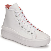 Shoes Women High top trainers Converse CHUCK TAYLOR ALL STAR MOVE HYBRID SHINE HI White
