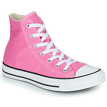 Shoes Women High top trainers Converse CHUCK TAYLOR ALL STAR SEASONAL COLOR HI Pink